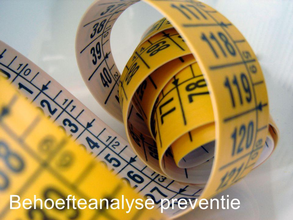 Behoefteanalyse preventie