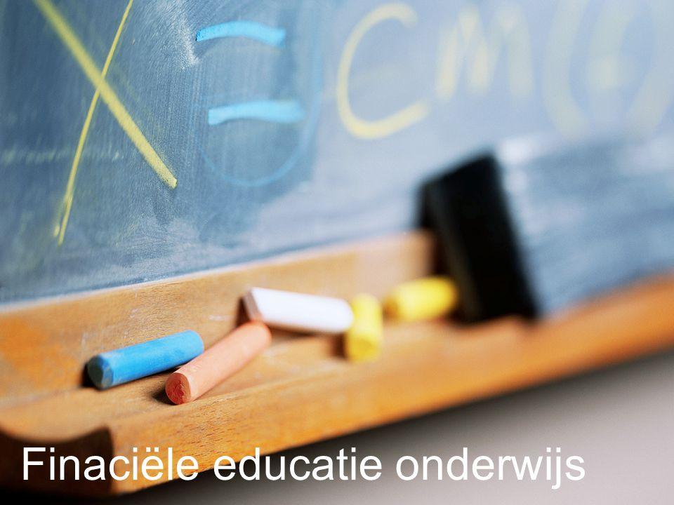 Finaciële educatie onderwijs
