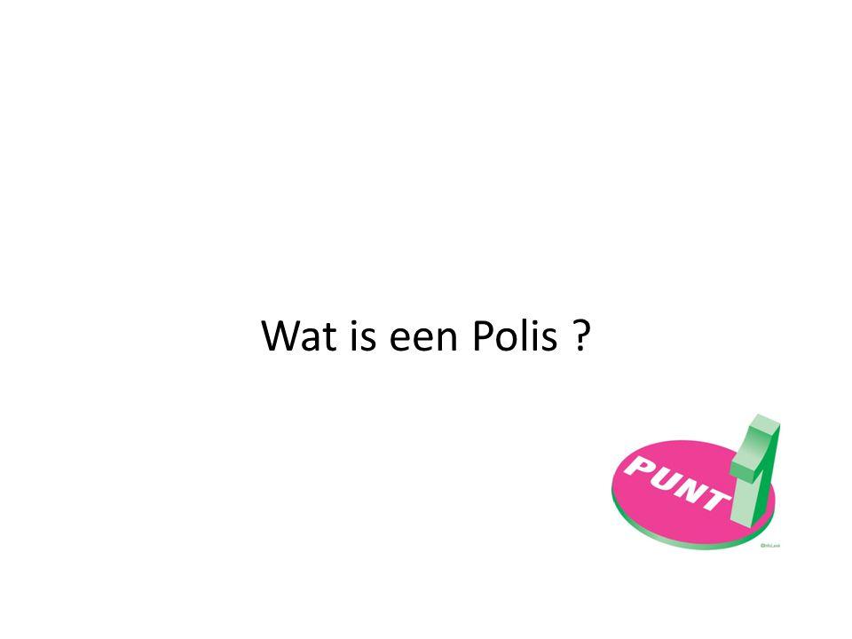 Wat is een Polis ?