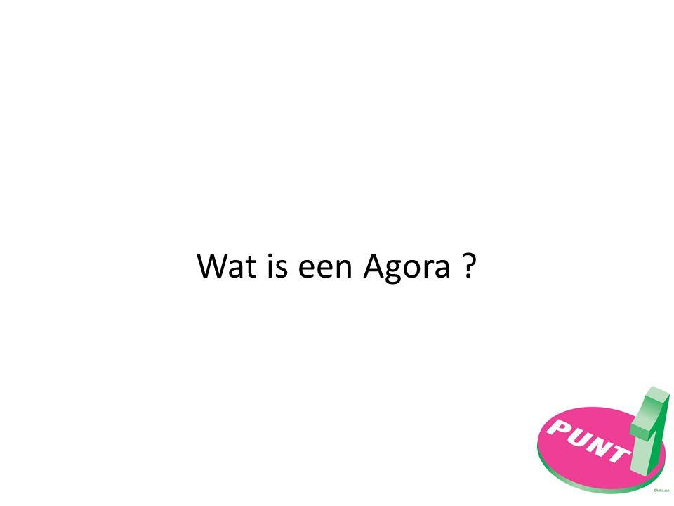 Wat is een Agora ?