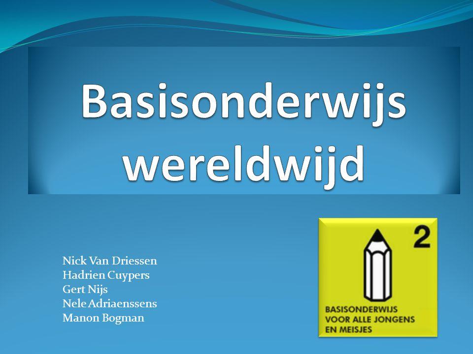 Nick Van Driessen Hadrien Cuypers Gert Nijs Nele Adriaenssens Manon Bogman