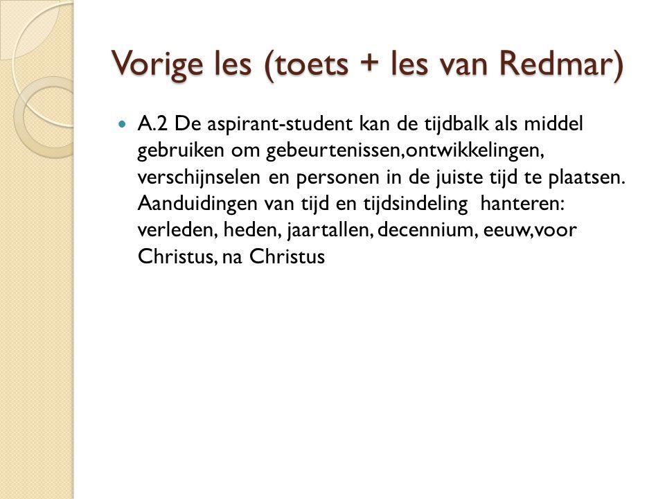 Tijdvak 5 (tijd van ontdekkers en hervormers) B.5.1 De aspirant-student kan redenen voor de ontdekkingsreizen uitleggen.
