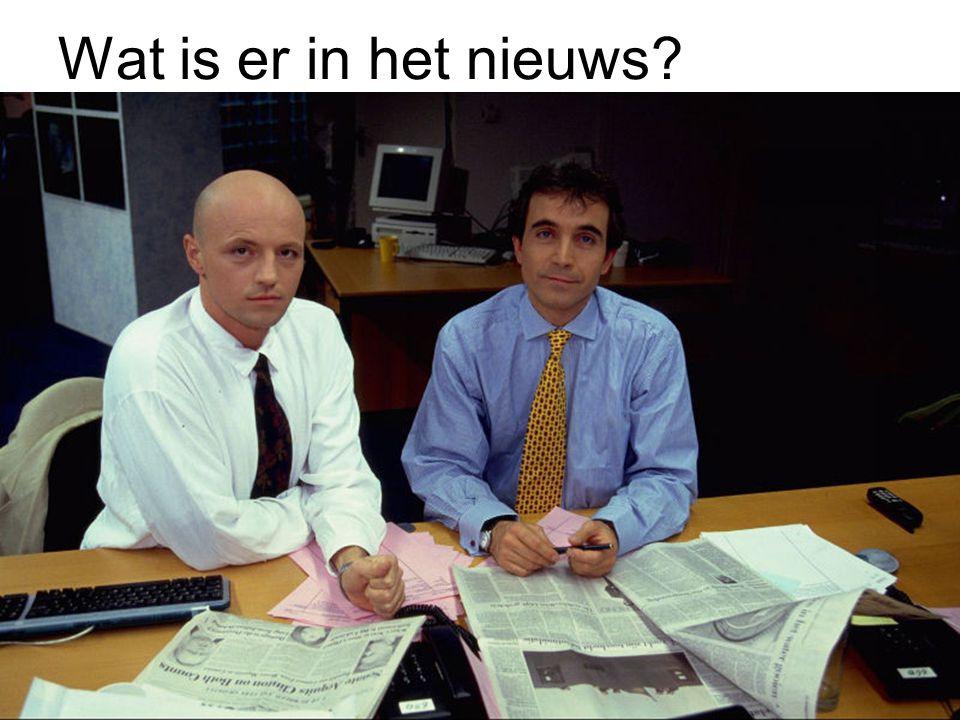 Wat is er in het nieuws?