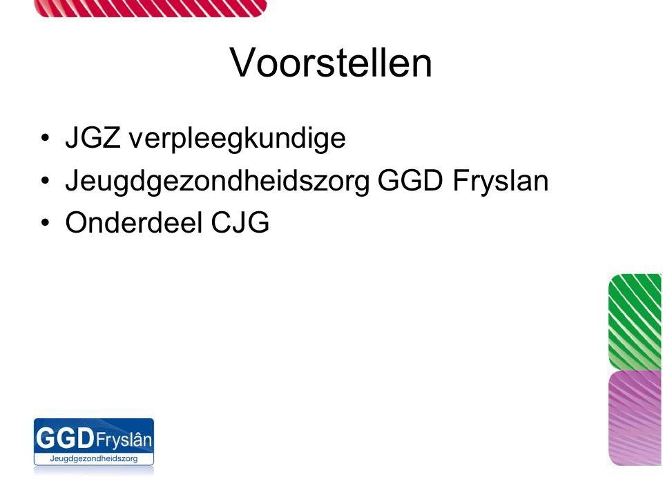 Voorstellen JGZ verpleegkundige Jeugdgezondheidszorg GGD Fryslan Onderdeel CJG