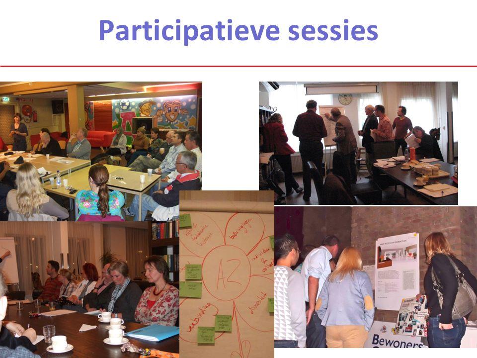 Participatieve sessies