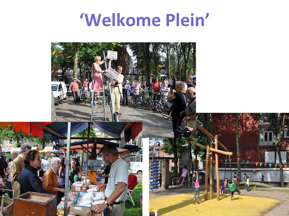 Dutch Research Institute For Transitions 'Welkome Plein'