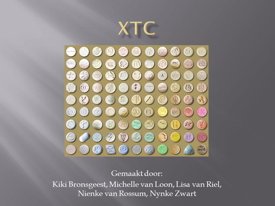  Wat is XTC  Geschiedenis  Waaruit wordt de drug gewonnen  Waar komen de grondstoffen vandaan  Productie  Gebruiksvormen  Werkzame stoffen  Het effect  Risico's  Weetjes