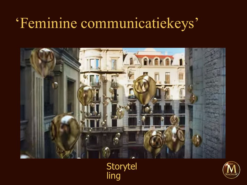 Storytel ling 'Feminine communicatiekeys'