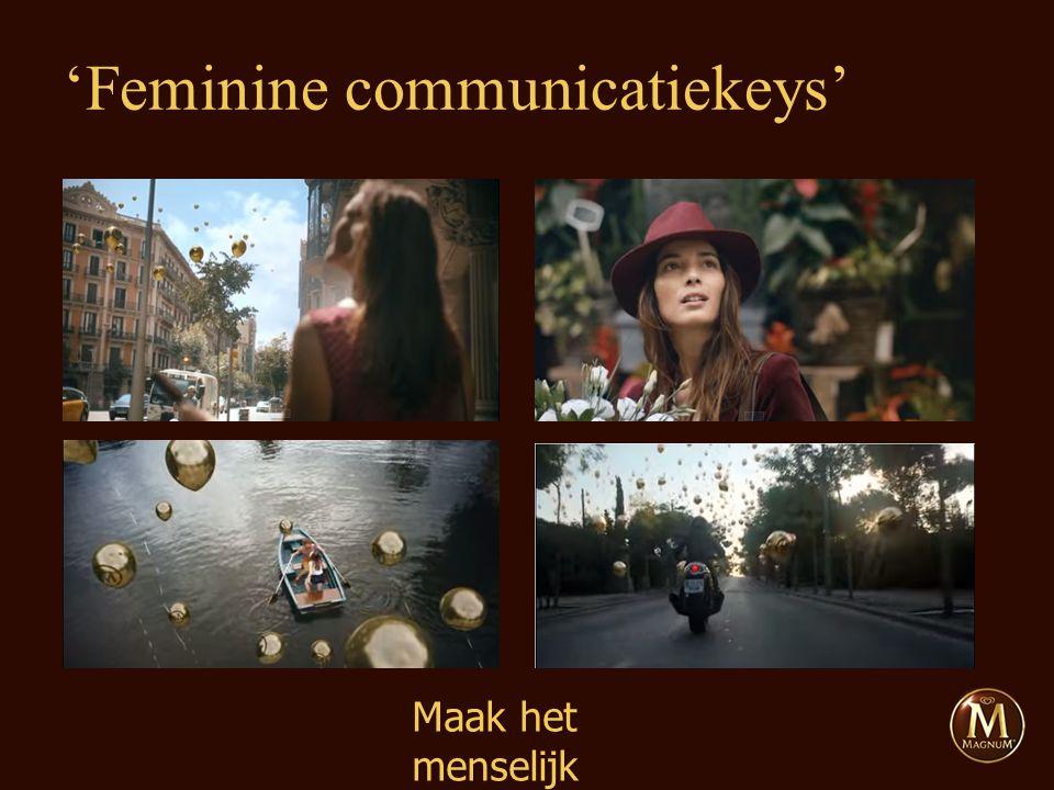 Maak het menselijk 'Feminine communicatiekeys'