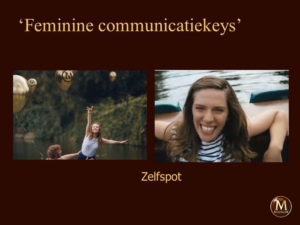 Zelfspot 'Feminine communicatiekeys'