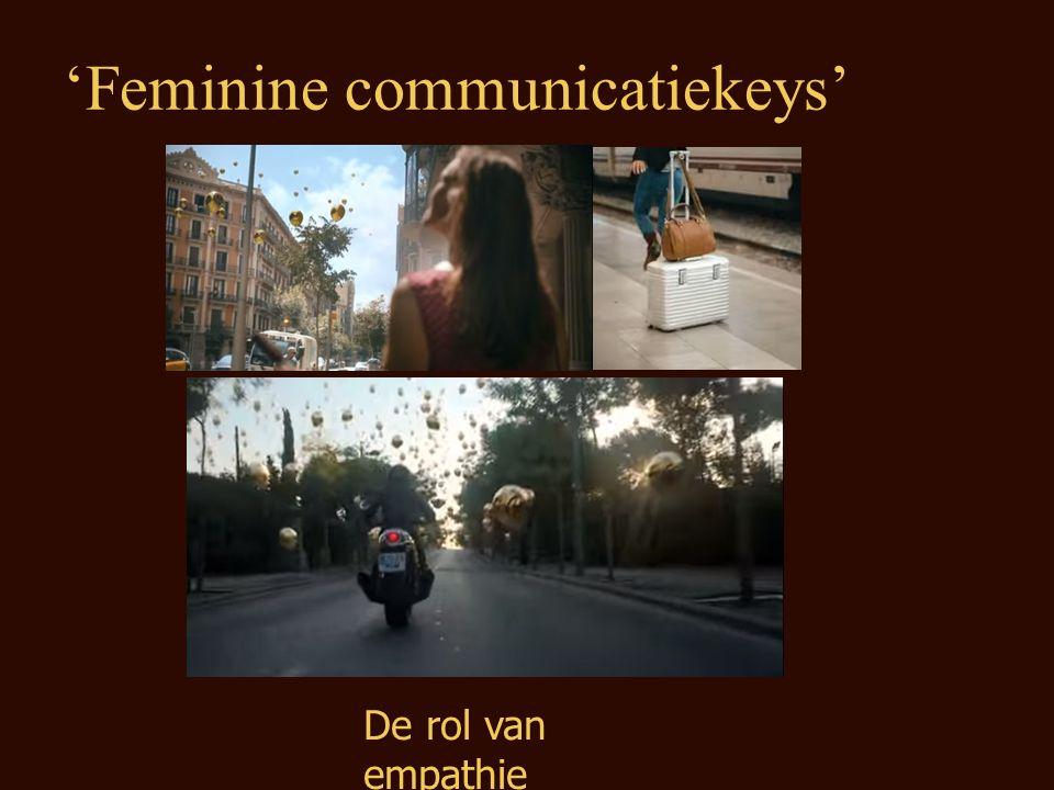 De rol van empathie 'Feminine communicatiekeys'