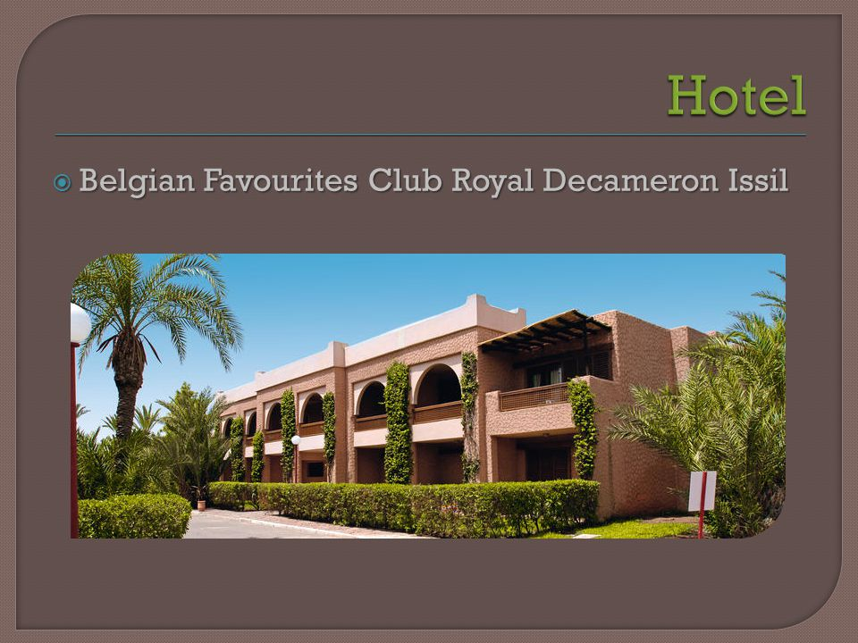  Belgian Favourites Club Royal Decameron Issil