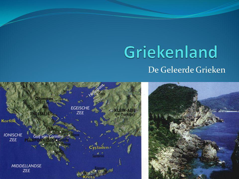 De Geleerde Grieken