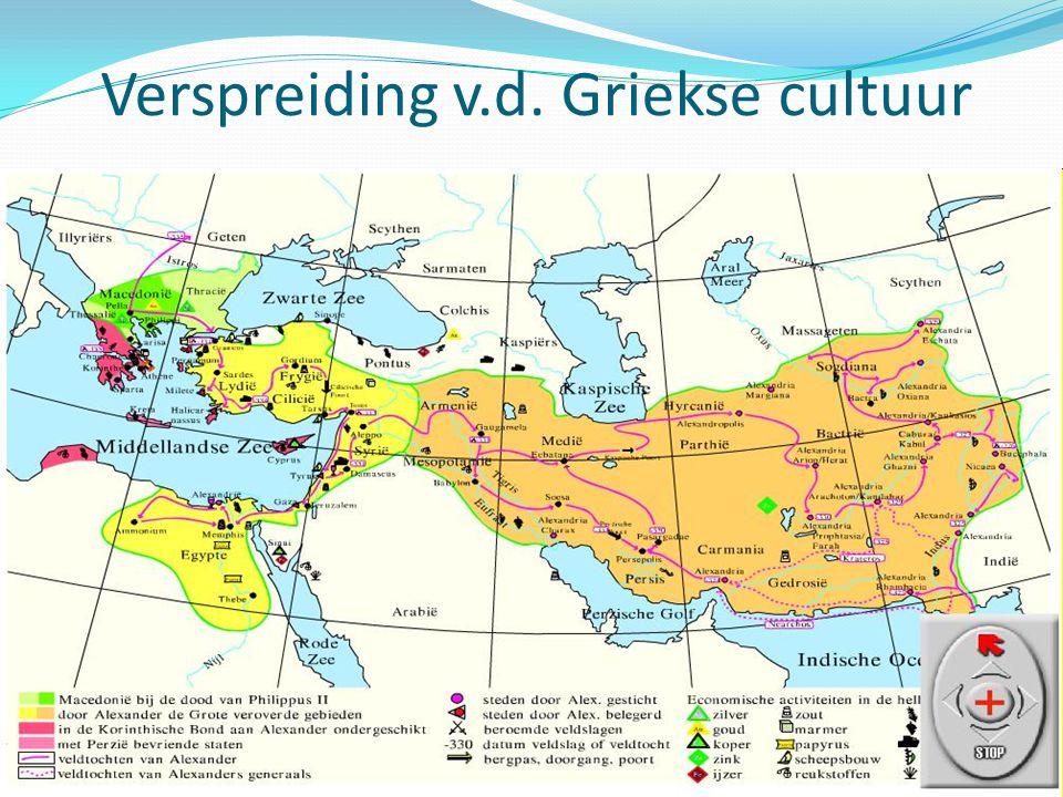 Verspreiding v.d. Griekse cultuur