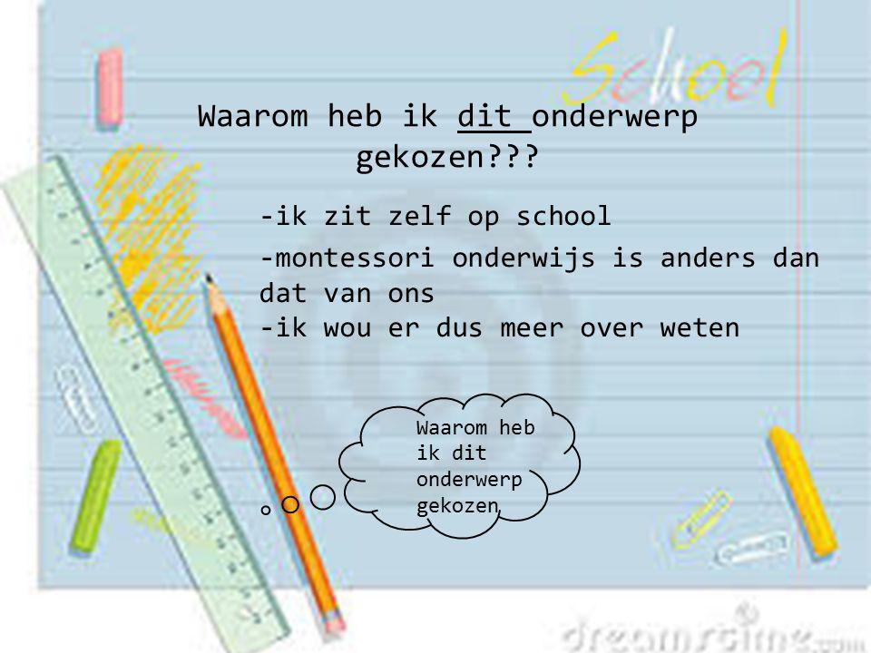 En gestorven op 6 mei 1952 ik ben dus 82 jaar geworden Alessandro Montessori en Renilde Stoppani zijn mijn ouders Ik kwam voor het eerst in Nederland in 1914 toen was ik 44 jaar En ik heb het montessorionderwijs bedacht Hallo ik ben Maria Montessori.