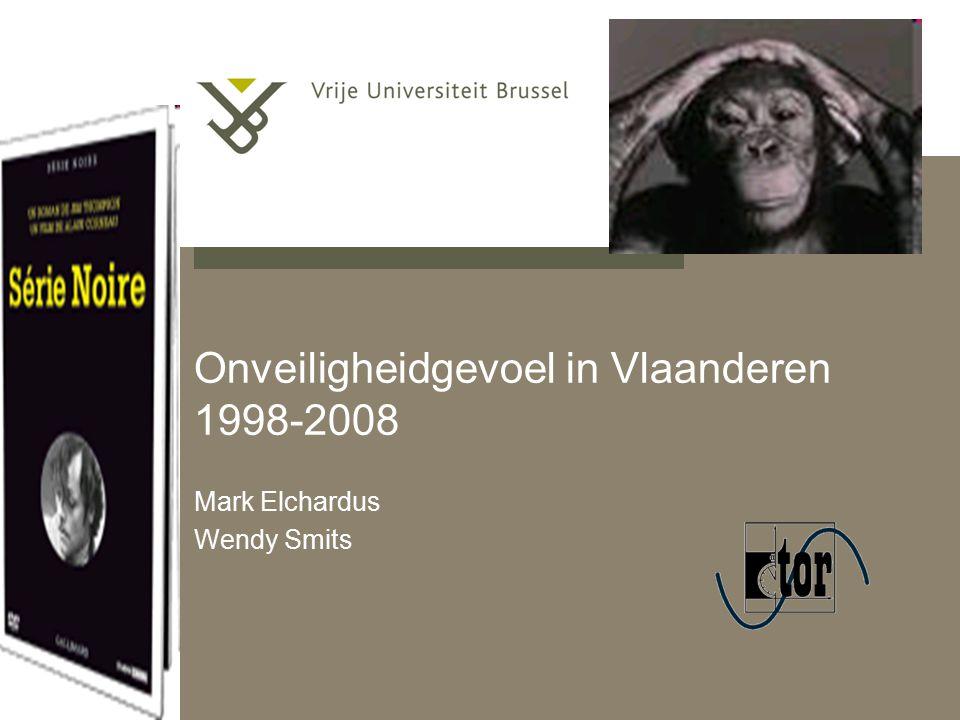pag. 1 Onveiligheidgevoel in Vlaanderen 1998-2008 Mark Elchardus Wendy Smits