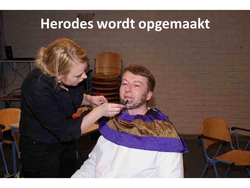 Herodes wordt opgemaakt
