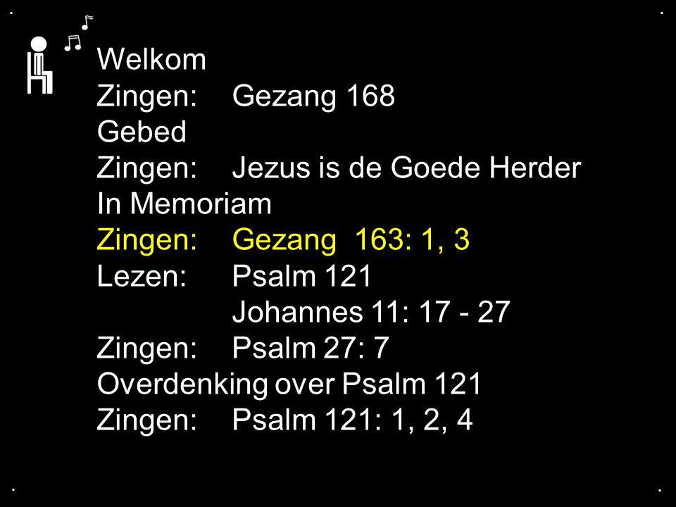 Gezang 163: 1, 3