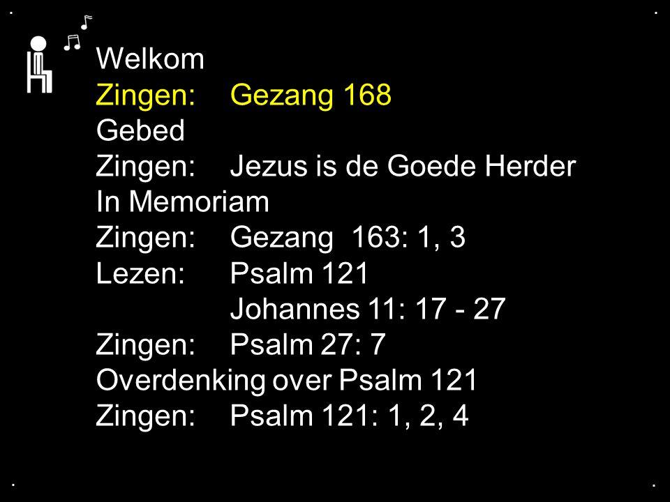 ... Gezang 168