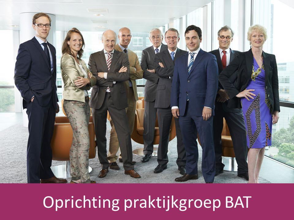 Oprichting praktijkgroep BAT