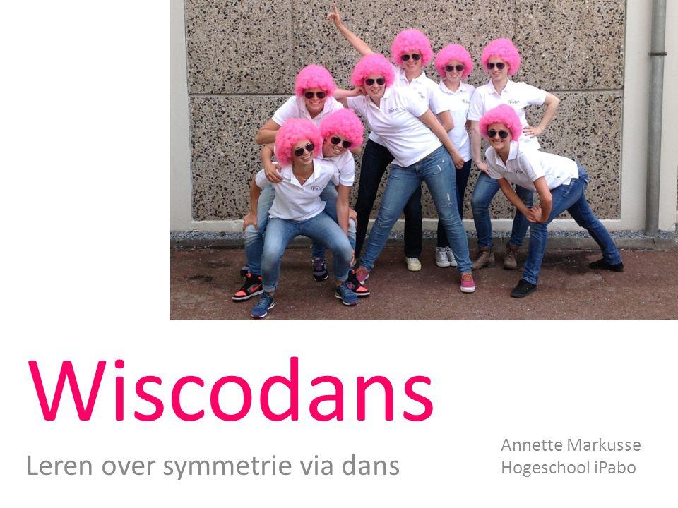 Wiscodans Leren over symmetrie via dans Annette Markusse Hogeschool iPabo