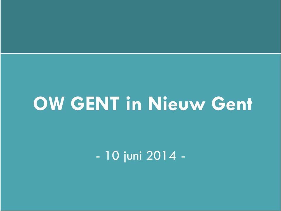 OW GENT in Nieuw Gent - 10 juni 2014 -