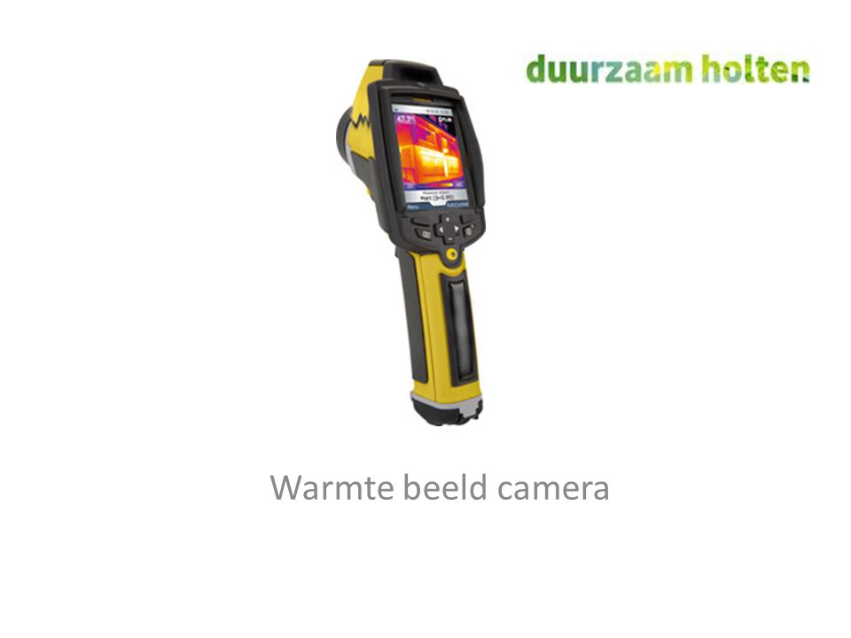 Warmte beeld camera