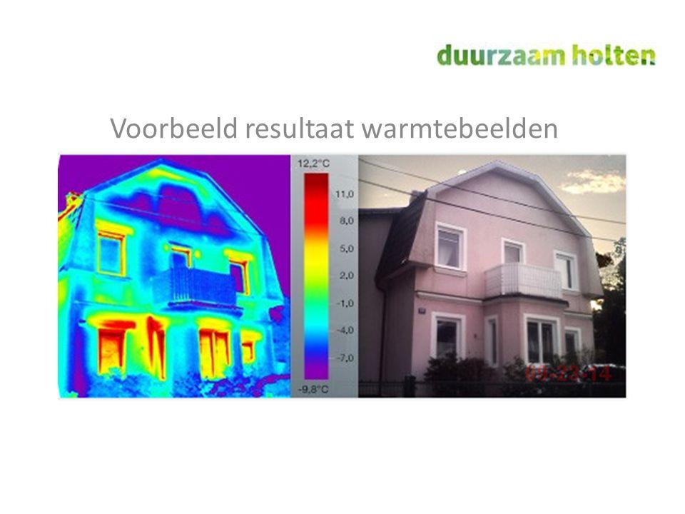 Voorbeeld resultaat warmtebeelden
