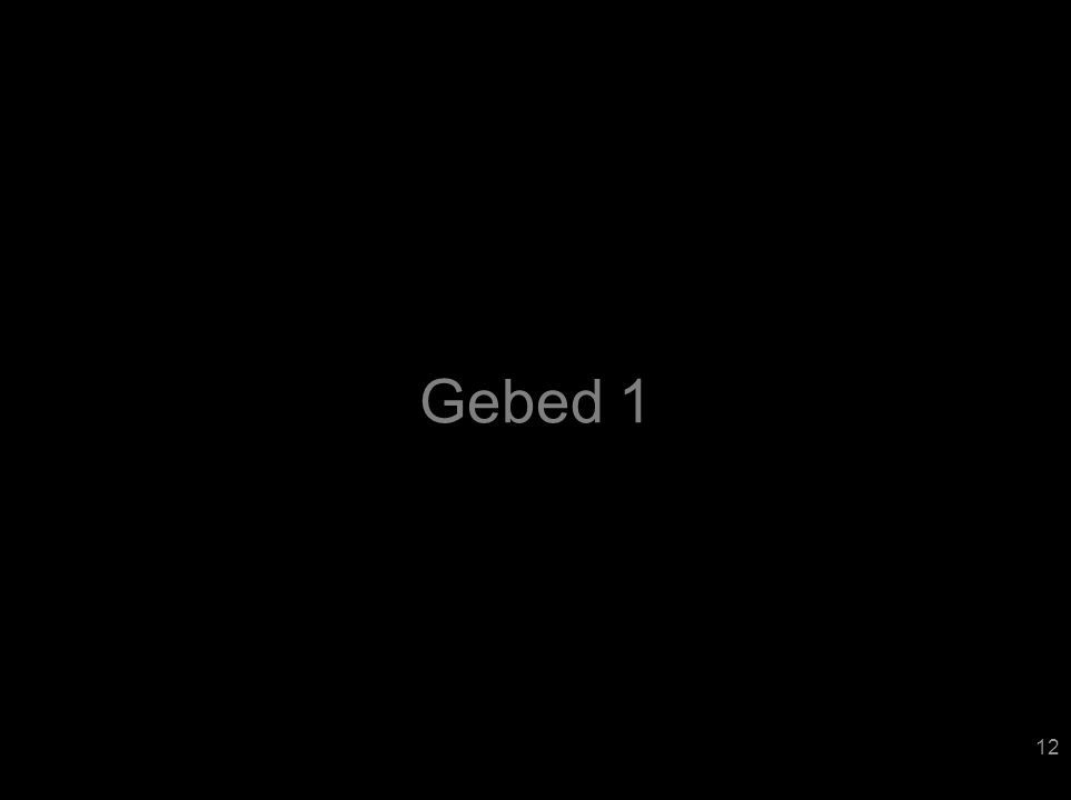 Gebed 1 12