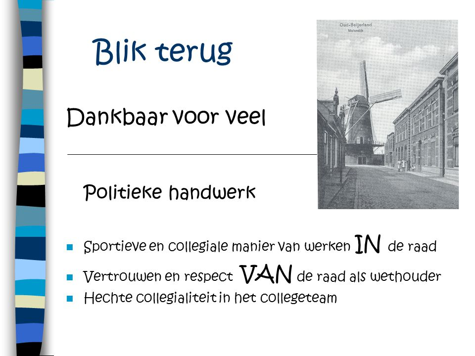 Basisprincipes Integriteit Respect Daadkracht