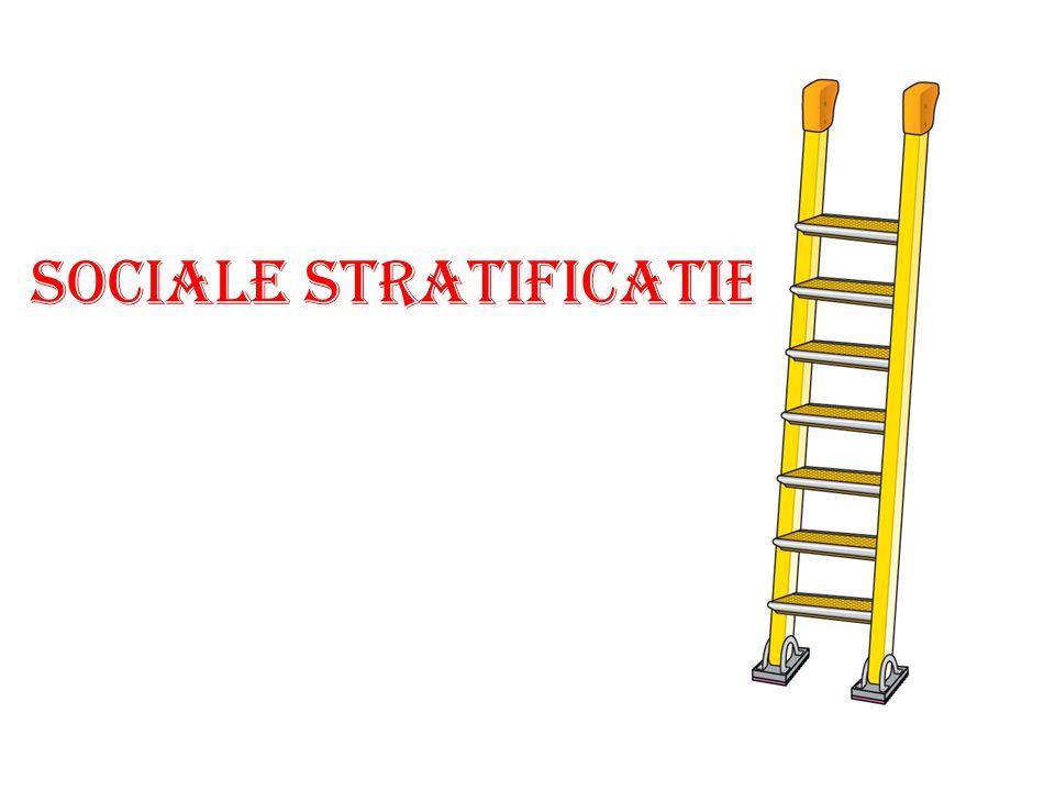 SOCIALE STRATIFICATIE