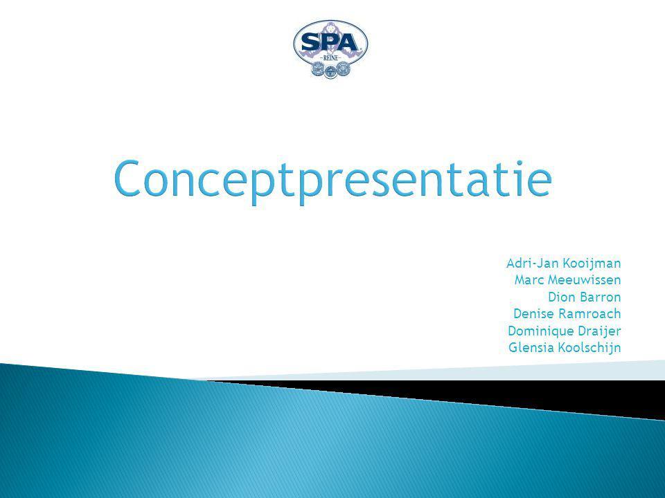  Agenda Voorstellen De gekozen maxitrend Het concept Meerwaarde van het concept Waarom samenwerking met Spa Reine.