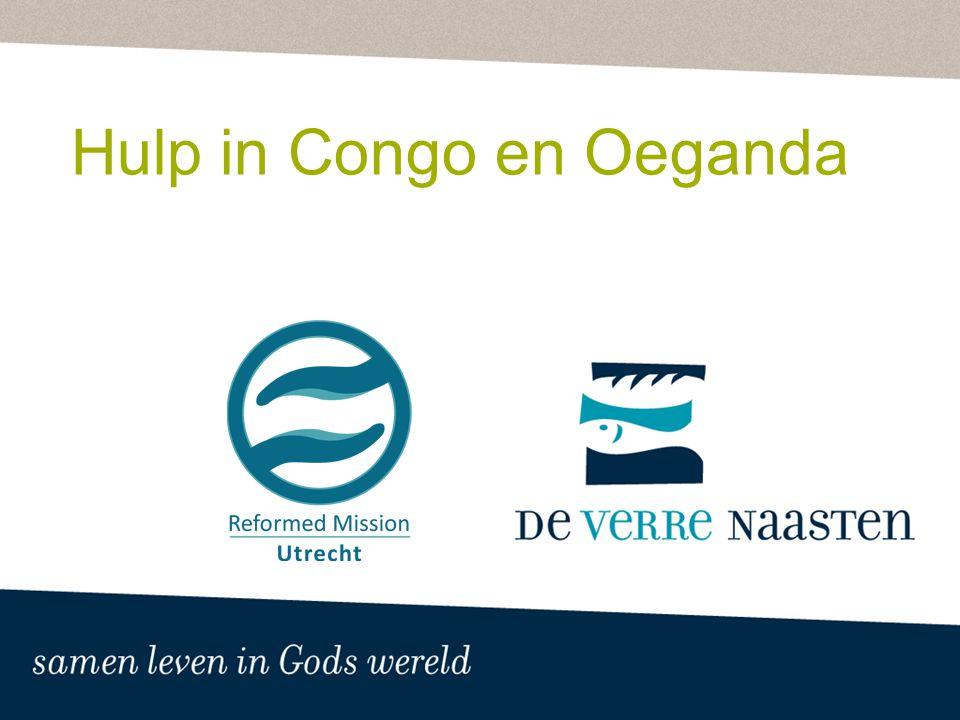 Hulp in Congo en Oeganda