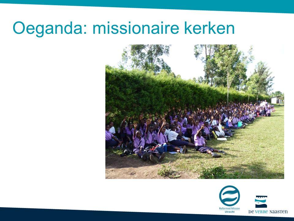 Oeganda hulp aan missionaire kerken Oeganda: missionaire kerken