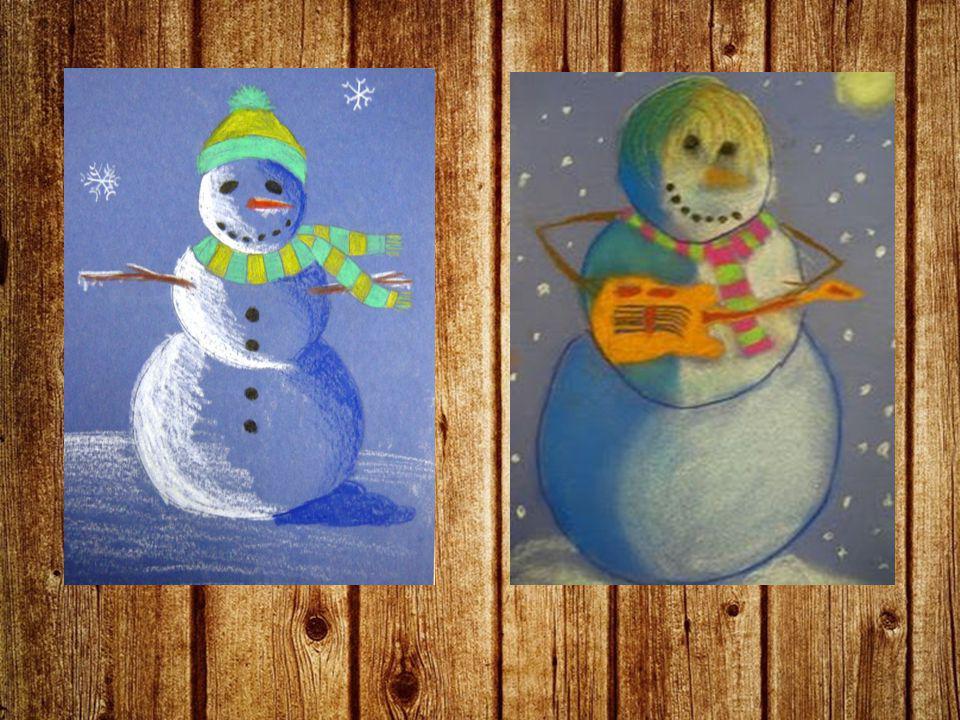Deze les -Uitzagen van je kerstfiguur -Bezig met schilderen -1 ander materiaal gebruiken
