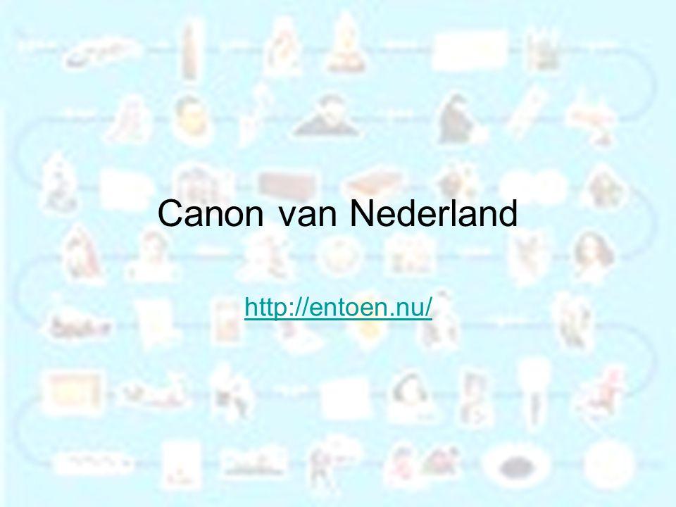 Canon van Nederland http://entoen.nu/