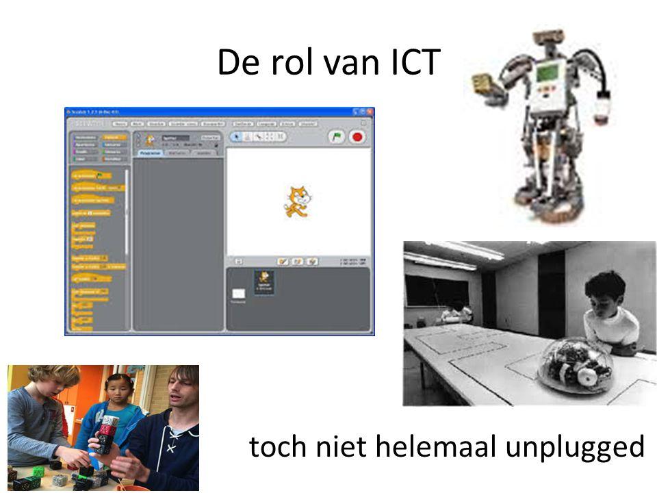 De rol van ICT toch niet helemaal unplugged