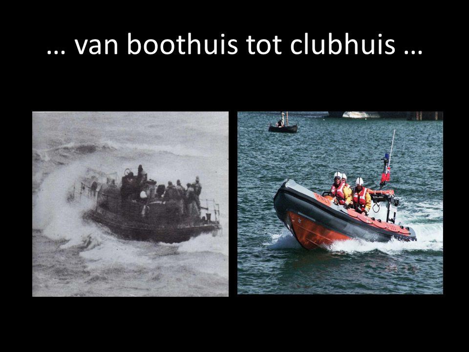 … van boothuis tot clubhuis …