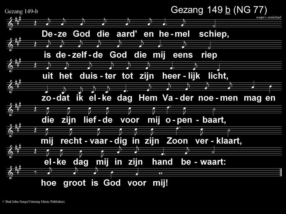 Gezang 149 b (NG 77)