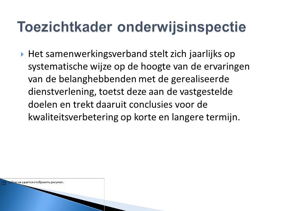  Het samenwerkingsverband stelt zich jaarlijks op systematische wijze op de hoogte van de ervaringen van de belanghebbenden met de gerealiseerde dien