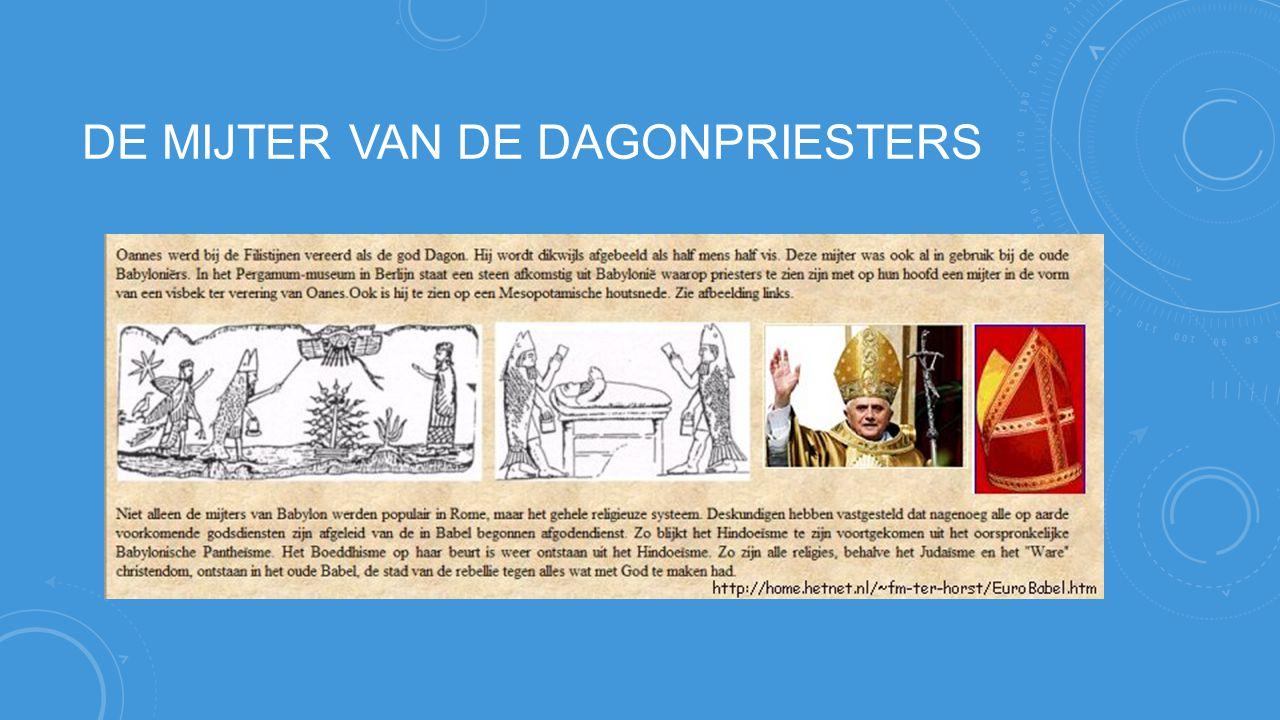DE MIJTER VAN DE DAGONPRIESTERS