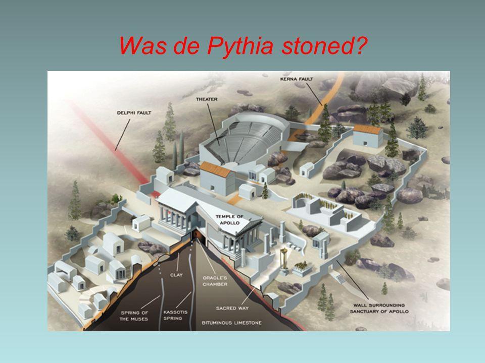 Was de Pythia stoned?