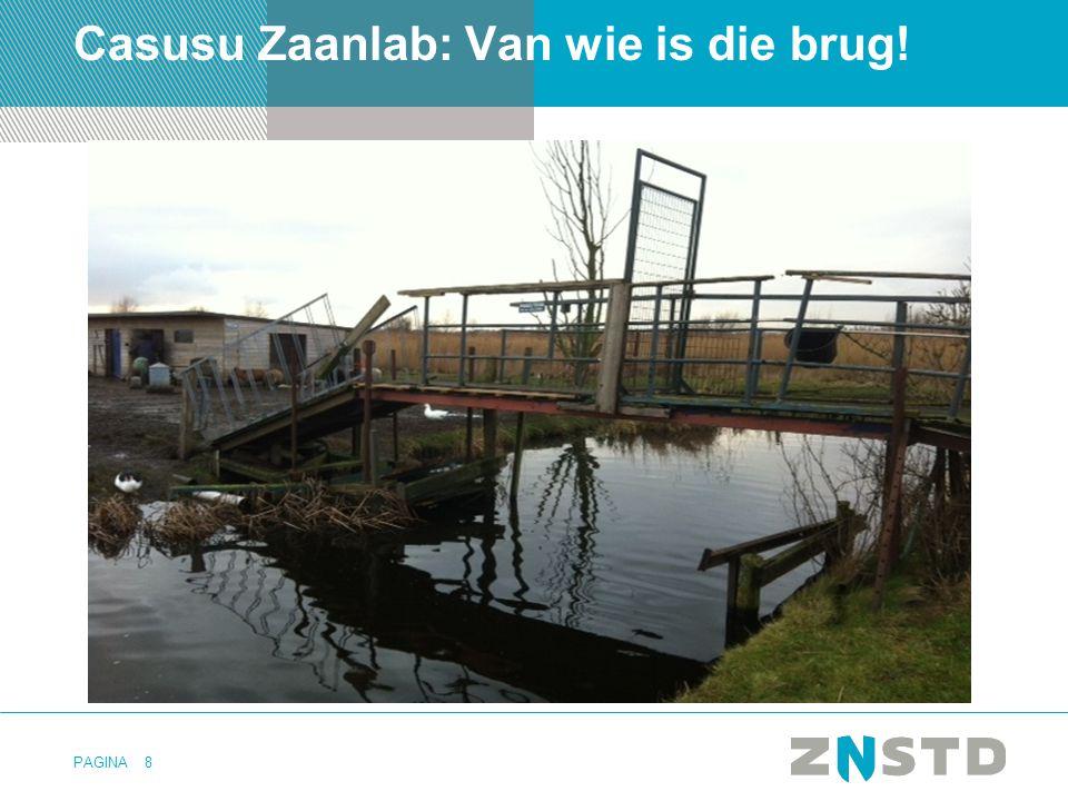 PAGINA Casusu Zaanlab: Van wie is die brug! 8