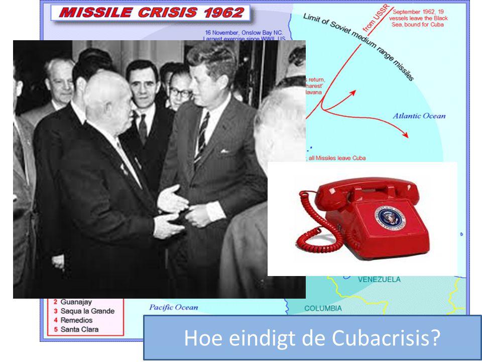 Hoe eindigt de Cubacrisis?