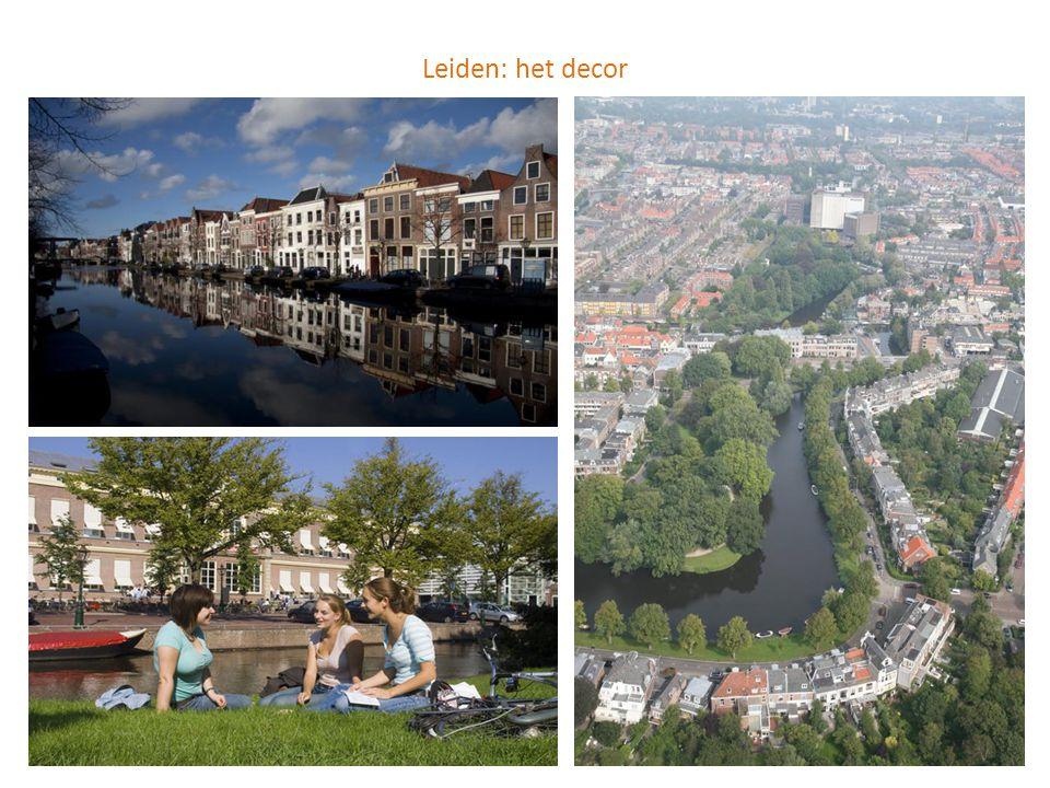 Leiden: het decor
