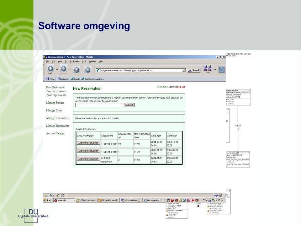 Software omgeving
