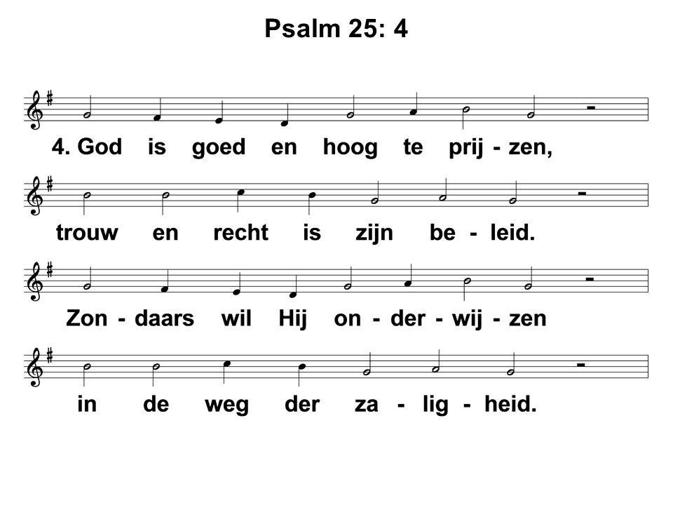 Psalm 25: 4