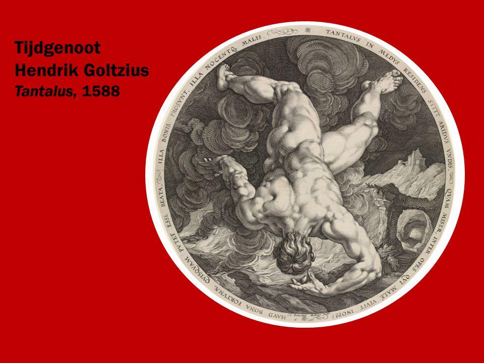 Tijdgenoot Hendrik Goltzius Tantalus, 1588