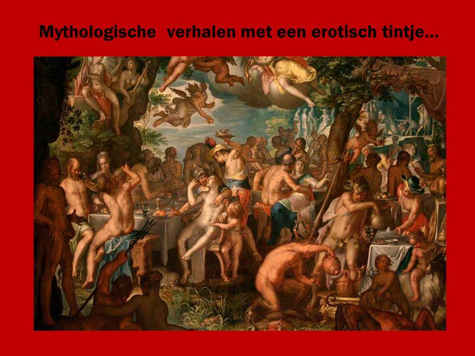 Mythologische verhalen met een erotisch tintje…