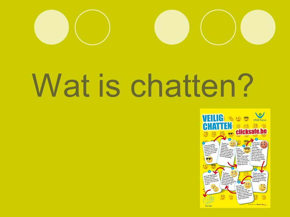 Wat is chatten?